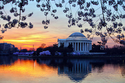 Politicians Royalty-Free and Rights-Managed Images - Washington Sunrise by Mitch Cat