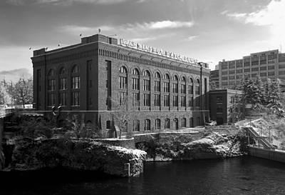 Washington Water Power Post Street Station - Spokane Washington Print by Daniel Hagerman