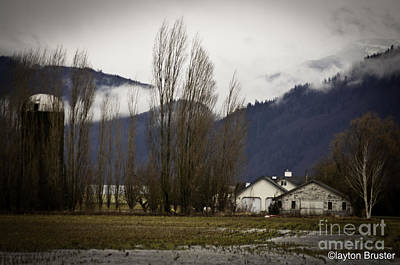 Photograph - Washington Winter Day by Clayton Bruster