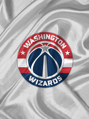 Sport Painting - Washington Wizards by Afterdarkness