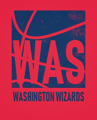 Washington Wizards Wall Art - Mixed Media - Washington Wizards City Poster Art by Joe Hamilton