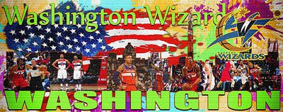 Washington Wizards Original by Don Kuing