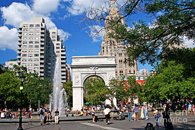 Washingtone Square New York Original