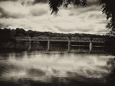 Washingtons Crossing Photograph - Washingtons Crossing Bridge by Bill Cannon
