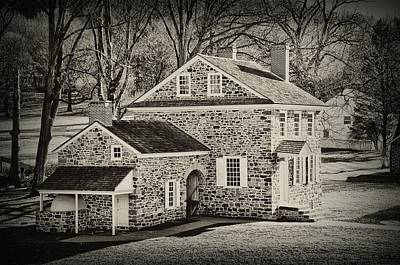 Washingtons Headquarters - Valley Forge Pa Print by Bill Cannon