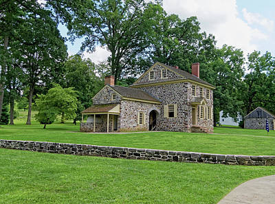 Photograph - Washington's Headquarters Valley Forge by Sally Weigand