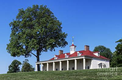 Thomas Kinkade Rights Managed Images - Washingtons Mt Vernon Royalty-Free Image by John Greim