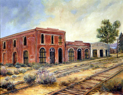 Painting - Washoe City Nevada by Evelyne Boynton Grierson