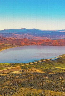 Photograph - Washoe From Above by Nancy Marie Ricketts