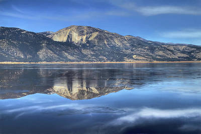 Photograph - Washoe Lake by Donna Kennedy