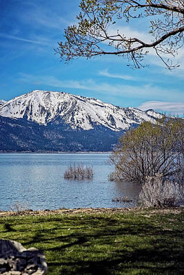 Photograph - Washoe Lake Nevada by Nancy Marie Ricketts