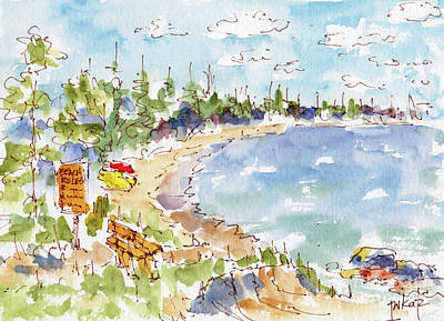 Painting - Waskesiu Summer by Pat Katz
