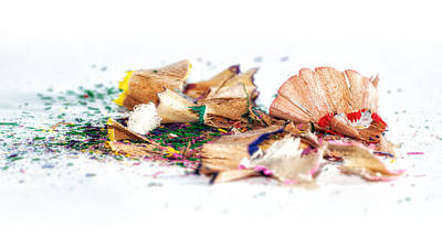 Brush Photograph - Waste Of Pencils by Cristian Ghisla