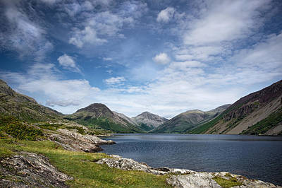 Wastwater Morning Art Print