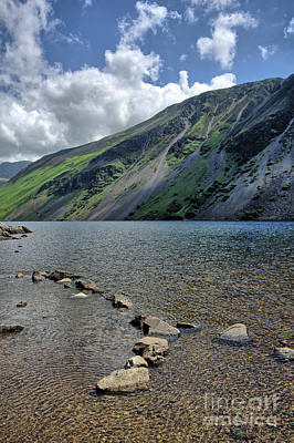 Lake District Wall Art - Photograph - Wastwater Screes by Smart Aviation