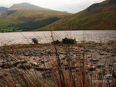 Photograph - Wastwater Through The Reeds 2 by Joan-Violet Stretch