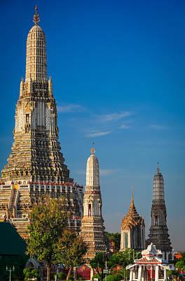 Photograph - Wat Arun by Inge Johnsson