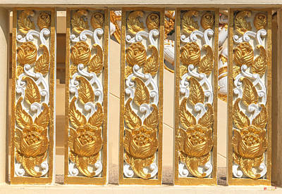 Photograph - Wat Ban Na Meru Or Crematorium Decorations Dthst0190 by Gerry Gantt