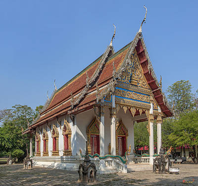 Photograph - Wat Ban Na Phra Ubosot Dthst0176 by Gerry Gantt