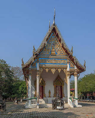Photograph - Wat Ban Na Phra Ubosot Dthst0177 by Gerry Gantt