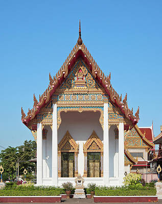 Photograph - Wat Bangphratoonnok Phra Ubosot Dthb0556 by Gerry Gantt