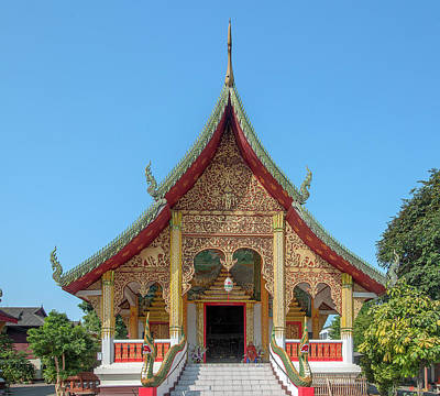 Photograph - Wat Chang Rong Wihan Luang Dthlu0092 by Gerry Gantt