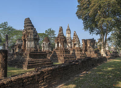 Photograph - Wat Chedi Ched Thaeo Chedi Dthst0136 by Gerry Gantt
