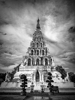 Photograph - Wat Chedi Liam Thailand by Panupong Roopyai