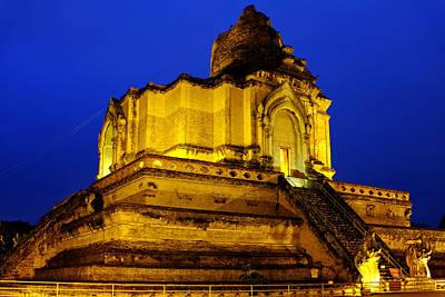 Photograph - Wat Chedi Luang by Fabrizio Troiani