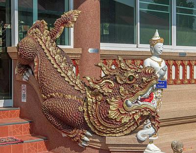 Photograph - Wat Chedi Mae Krua Makara Dthcm1850 by Gerry Gantt