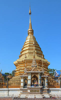 Photograph - Wat Chomphu Phra That Chedi Dthcm1218 by Gerry Gantt