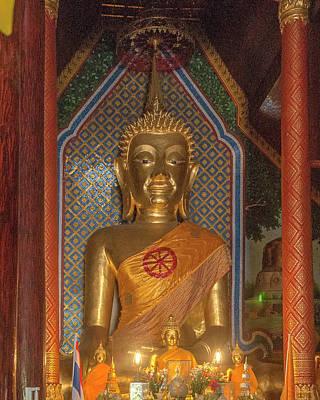 Photograph - Wat Chomphu Phra Wihan Principal Buddha Image Dthcm1212 by Gerry Gantt