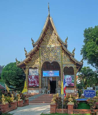 Photograph - Wat Fa Ham Phra Wihan Dthcm1339 by Gerry Gantt