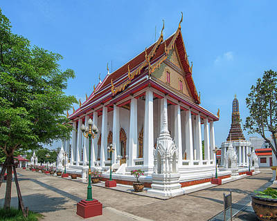 Photograph - Wat Intharam Phra Ubosot Dthb2081 by Gerry Gantt