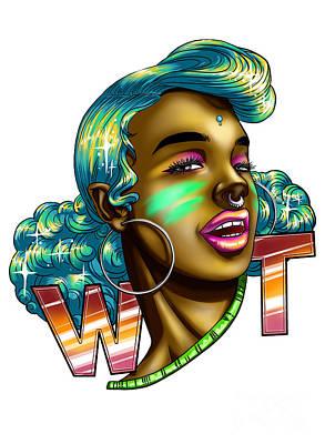 wAt Art Print by Jasneet Samra