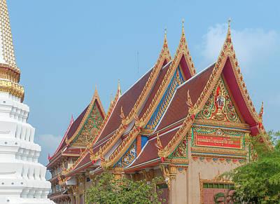Photograph - Wat Kaeo Phaithun Hall Gables Dthb1858 by Gerry Gantt
