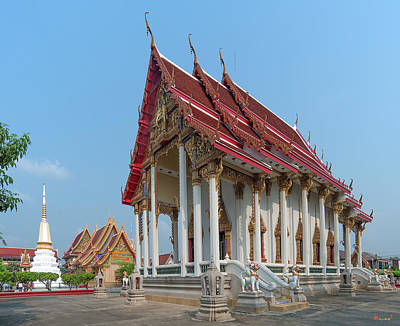 Photograph - Wat Kaeo Phaithun Phra Ubosot Dthb1852 by Gerry Gantt