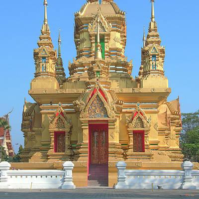 Photograph - Wat Kamat Phra Chedi Lower Level Dthcm1501 by Gerry Gantt