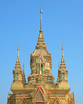 Photograph - Wat Kamat Phra Chedi Upper Level Dthcm1500 by Gerry Gantt