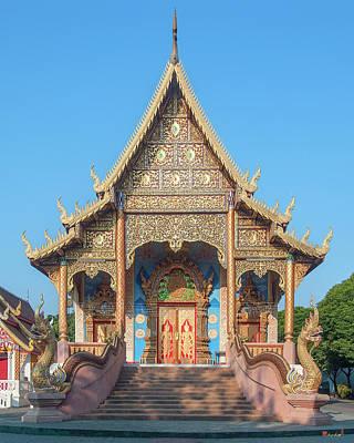 Photograph - Wat Kamphaeng Ngam Phra Wihan Dthcm0992 by Gerry Gantt