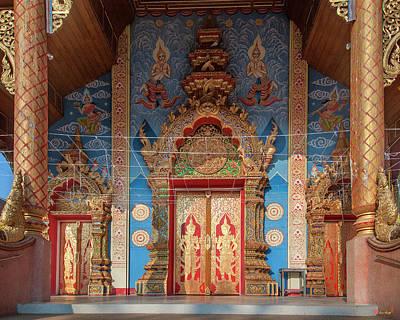 Photograph - Wat Kamphaeng Ngam Phra Wihan Entrance Dthcm0994 by Gerry Gantt