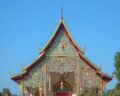 Photograph - Wat Kantharam Phra Wihan Gable Dthcm1016 by Gerry Gantt