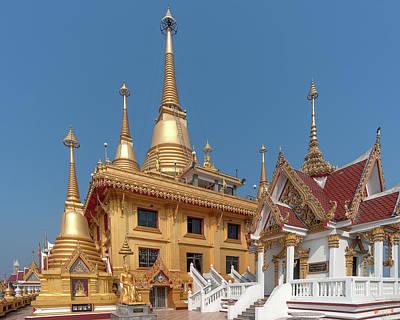Photograph - Wat Khiriwong Phrachulamanee Chedi Dthns0048 by Gerry Gantt