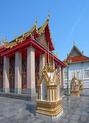 Photograph - Wat Khunchan Phra Ubosot Dthb2035 by Gerry Gantt
