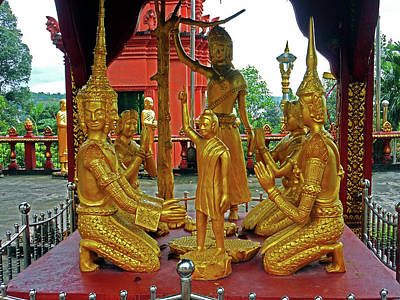 Photograph - Wat Krom Temple 19 by Ron Kandt