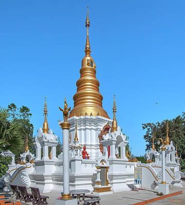 Photograph - Wat Kumpa Pradit Phra That Praditvee Sri Lanna Chedi Dthcm1671 by Gerry Gantt