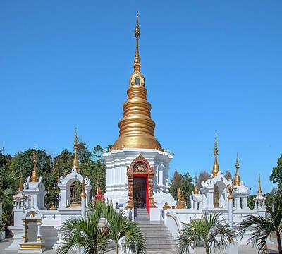 Photograph - Wat Kumpa Pradit Phra That Praditvee Sri Lanna Chedi Dthcm1672 by Gerry Gantt