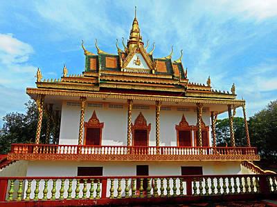 Photograph - Wat Leu Temple 10 by Ron Kandt