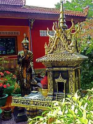 Photograph - Wat Leu Temple 13 by Ron Kandt
