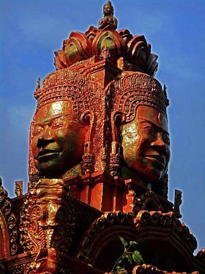 Photograph - Wat Leu Temple 18 by Ron Kandt